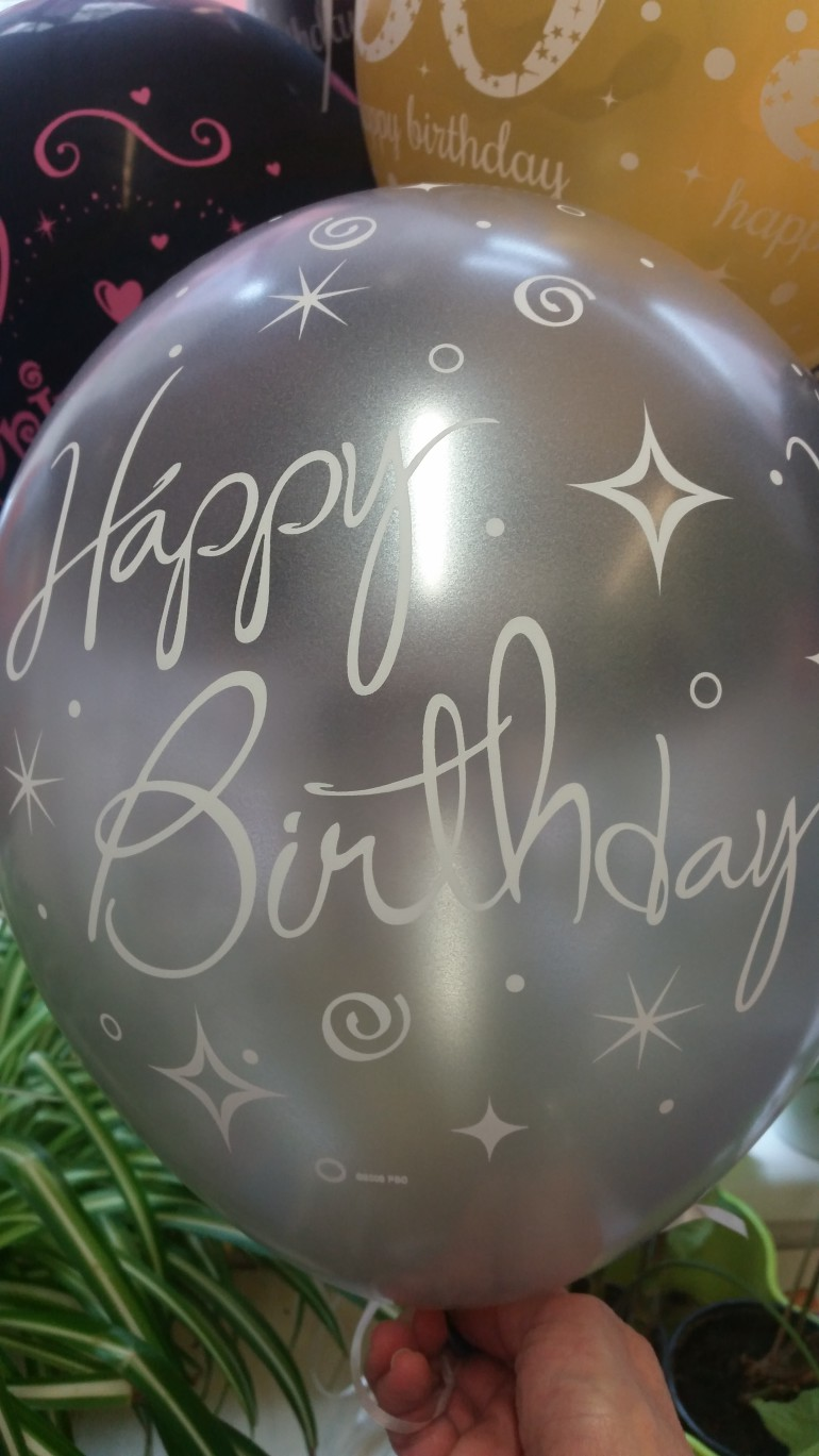 Latexballon Happy Birthday
