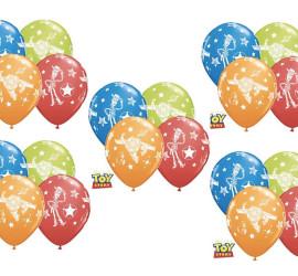 Latexballons Motiv Toy Story