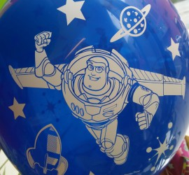 Latexballon mit Buzz Lightyear