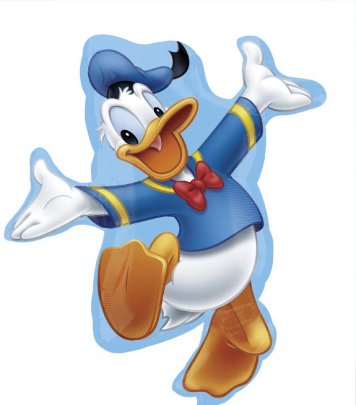 Folienballon Donald Duck