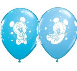 Latexballon Mickeymouse Baby