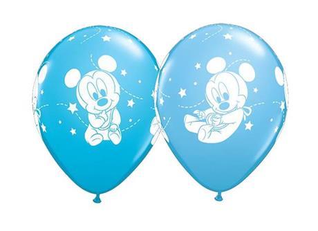Latexballon Mickeymouse Baby