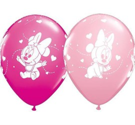 Latexballon Minniemouse Baby