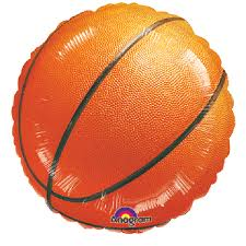 Folienballon Basketball