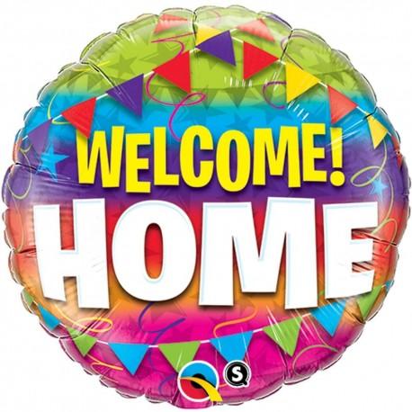 Folienballon WELCOME HOME