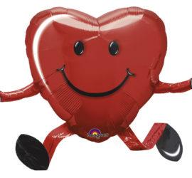 Airwalker Folienballon Herz