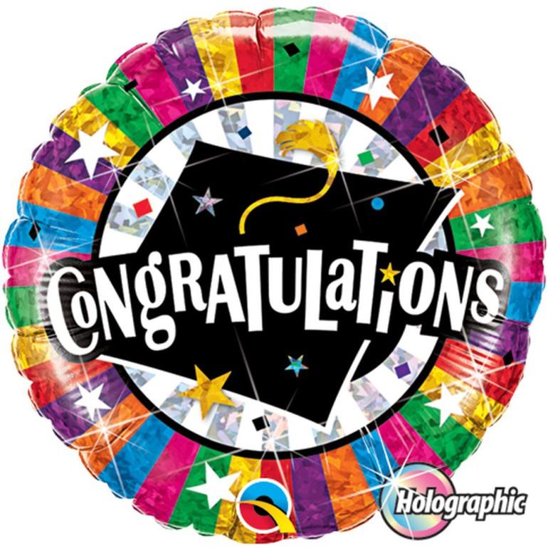Folienballon Congratulations
