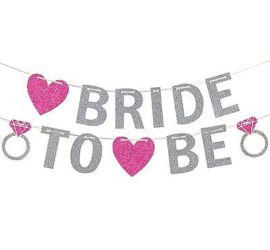 Banner `Bride to be´