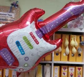 Folienballon Gitarre