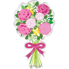 Folienballon Blumenstrauss