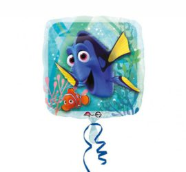Folienballon Dory und Nemo