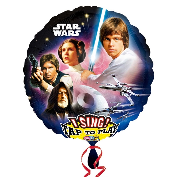 Star Wars singender Folienballon