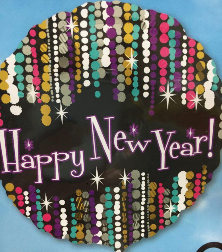 Happy New Year Folienballon