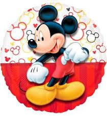 Mickey Mouse Folienballon rund 45 cm