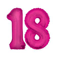 Folienzahlen pink 86 cm hoch, 60 cm breit! Von 0 - 9 erhältlich