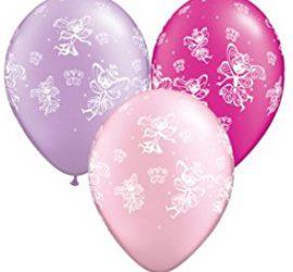 Feen und Schmetterlinge in flieder, rosa und magenta Farben
