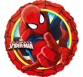 Spiderman - Folienballon rund, 45 cm