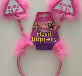 Haarreifen BRIDE TO BE - für den Polterabend!