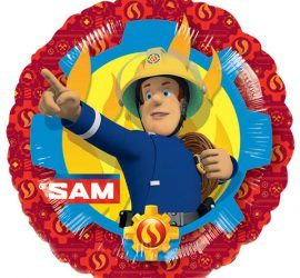 Feuerwehrmann SAM - Folienballon 45 cm