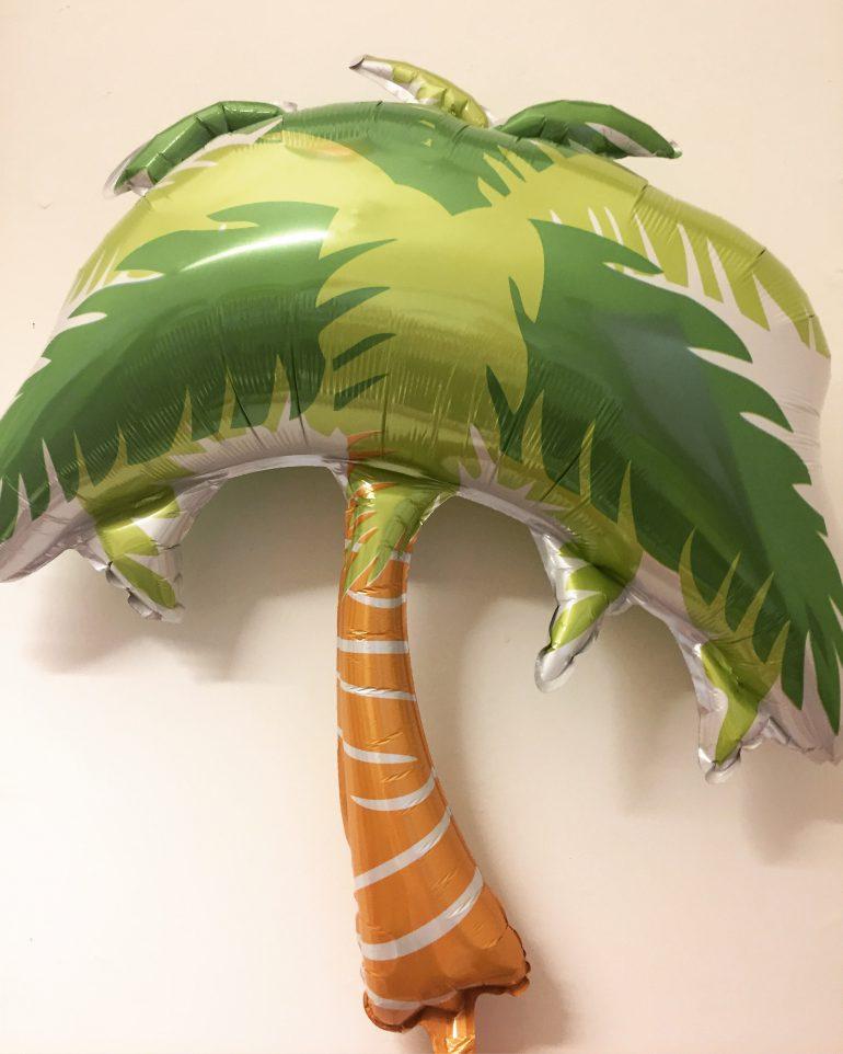 Folienballon Palme - für die Strand-/ Sommerparty