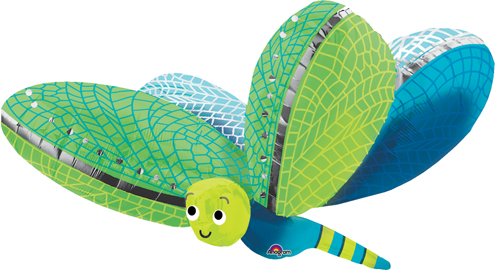 Folienballon Libelle