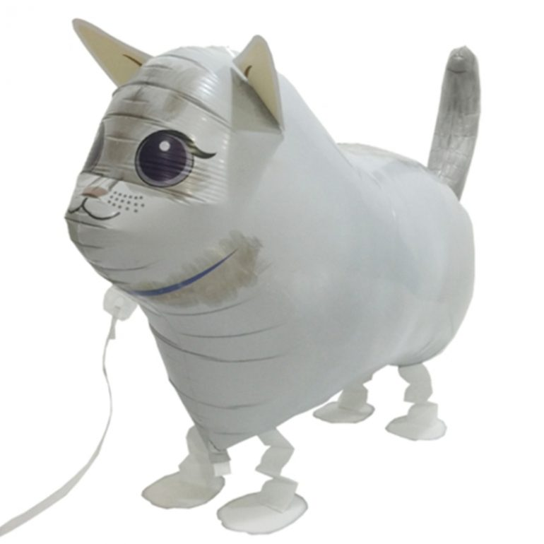 weisse Katze - Airwalker!