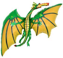 Drache - Folienballon - 80 cm groß