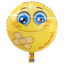 Gute Besserung! Folienballon 45 cm - für die baldige Genesung!