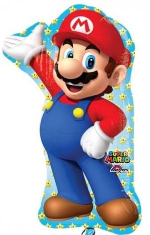 Super Mario - Folienballon 80 cm groß