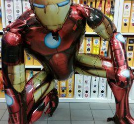 Ironman - Airwalker, steht am Boden! Riesig! 1 m hoch, 1 m breit, 1m tief, cool! Superheld, Marvel