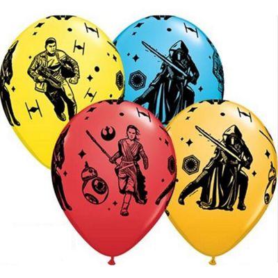 Star Wars Episode 7 - Latexballons in vier verschiedenen Farben, 27 cm
