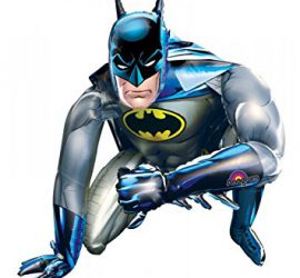 Batman - cooler Airwalker, steht am Boden, 1 m hoch, 1 m tief, imposant! Superheld!