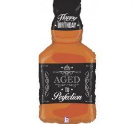 Cognacflasche Happy Birthday - Zum Geburtstag eine Cognacflasche! Ca. 80 cm hoch!