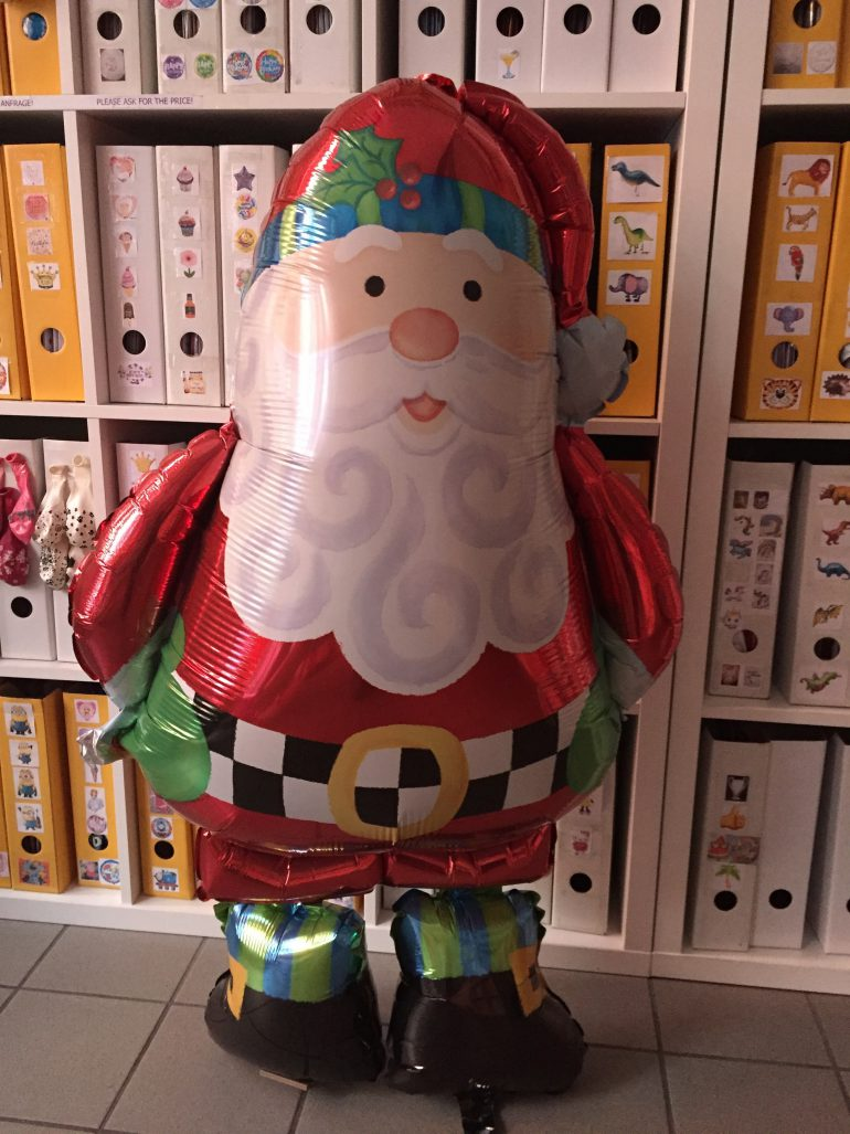 Airwalker Weihnachtsmann - Christmas - Weihnachten - Santa Clause