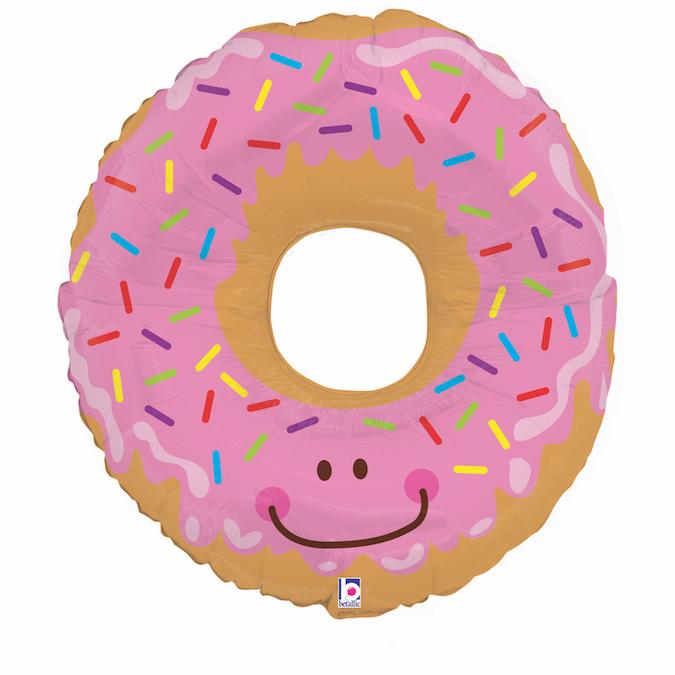 Folienballon Donut - für alle Naschkatzen!
