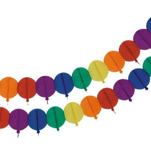 Partygirlande Luftballons in bunten Farben