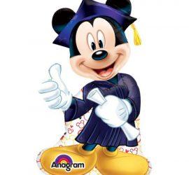 Mickeymouse zur bestandenen Abschlussprüfung (Matura, Studium, etc.) Folienballon