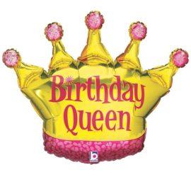 Birthday Queen - Geburtstagsballon - Folie - für die Geburtstagskönigin!