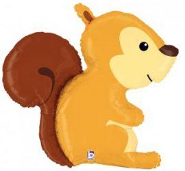 Eichhörnchen - Folienballon 91 cm