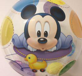 Bubble Baby Mickeymouse - für die Babyparty/Babyshower; zur Geburt, zum ersten Geburtstag