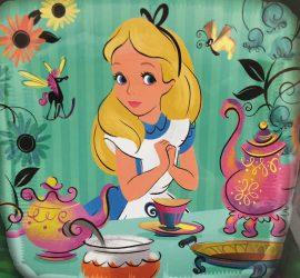 Alice im Wunderland - Folienballon 45 cm