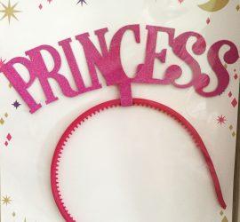 Haarreifen PRINCESS pink