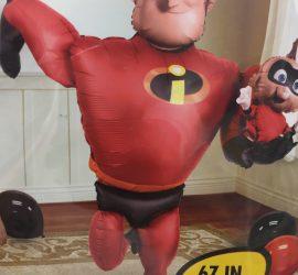 Incredibles - Die Unglaublichen - Airwalker Mr. Incredible und Jackjack - 1,70 cm groß - Disney - Pixar