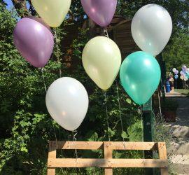 Latexballons Seidenglanz 40 cm