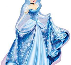 Cinderella - Aschenputtel - Prinzessin - Disney - Folienfigur 80 cm