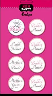 Ansteckbutton für den Polterabend/HenNight - Bride/Bride Maid/Mother of the Bride/Mother of the Groom