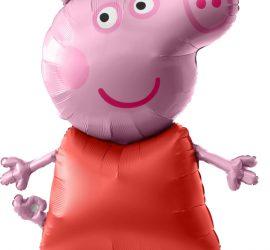 Airwalker Peppa Pig - Peppa Wutz - Folienballon 1,20 m groß!