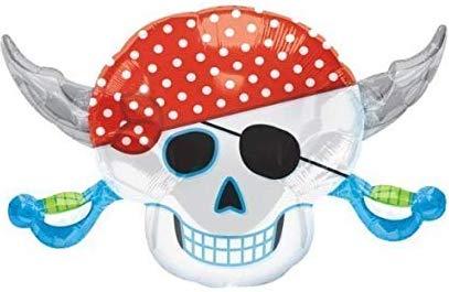 Piratenkopf - Folienballon