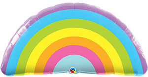 Regenbogen - Folienballon