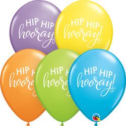 Hip Hip hooray! - Latexballon in wunderschönen Farben erhältlich!